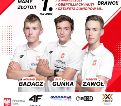 Polacy Mistrzami Świata Juniorów Młodszych!