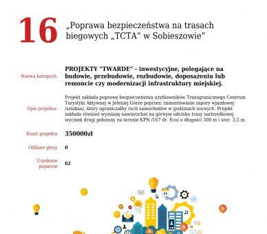 """JBO 2022 – Poprawa bezpieczeństwa na trasach biegowych """"TCTA"""" w Sobieszowie"""